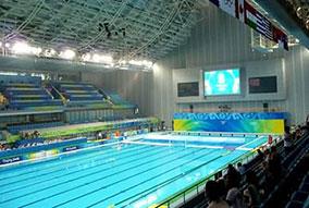 奥体中心霍英东游泳馆-奥运场馆